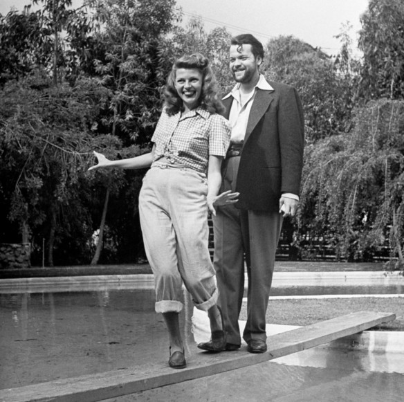 Rita Hayworth;Orson Welles [& Wife]
